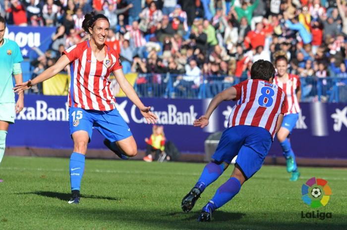 El Atlético se llevó el partido de la jornada