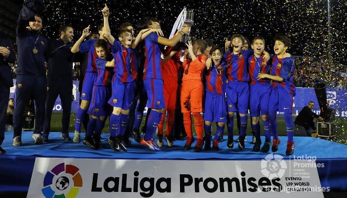 El Barcelona ganó el torneo La Liga Promises de 2016
