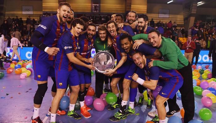 El Barcelona gana la Copa del Rey de balonmano y suma siete títulos esta temporada