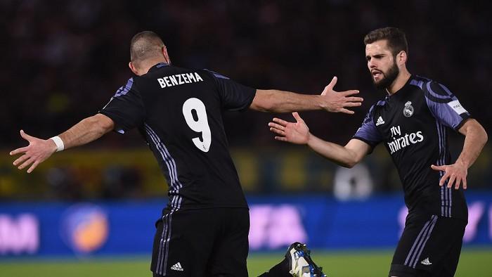 Benzema marcó el primer gol del Madrid ante el América