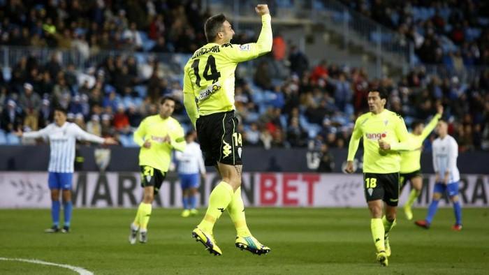 El Córdoba ha eliminado al Málaga en Copa del Rey