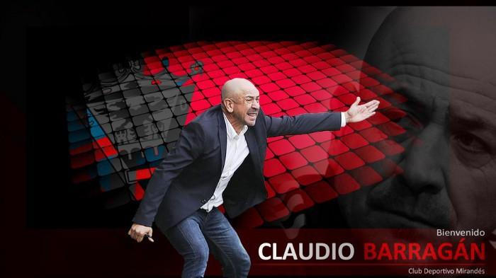 Claudio Barragán va a dirigir al Mirandés