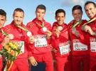 Tres medallas de plata, el botín de España en el Europeo de cross de 2016