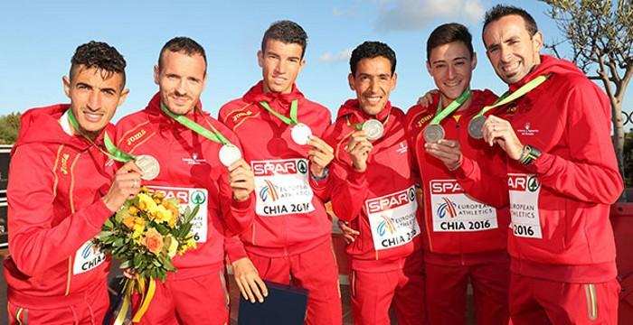 El equipo español de cross ganó una medalla de plata en el Europeo