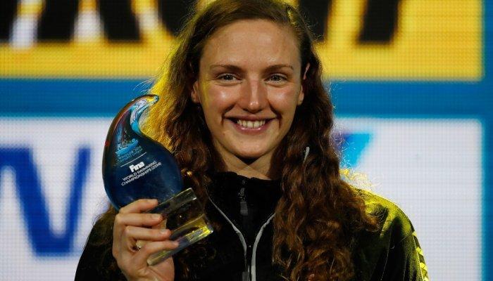 Hosszu ha logrado siete medallas de oro en los Mundiales de piscina corta