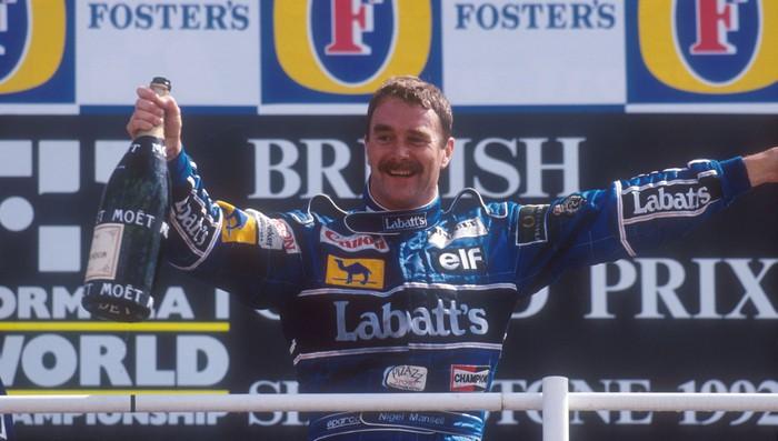 Nigel Mansell no defendió el título ganado en 1993