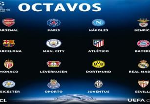 Champions League 2016-2017: posibles rivales de los españoles en octavos de final