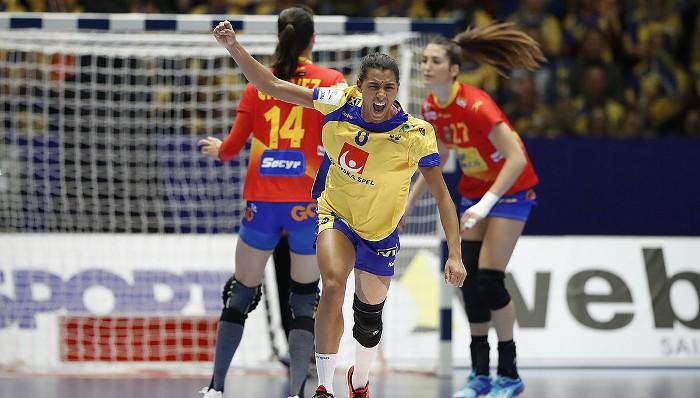 España debutó con mal pie ante Suecia