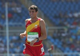 El atleta español Adel Mechaal suspendido hasta diciembre de 2017