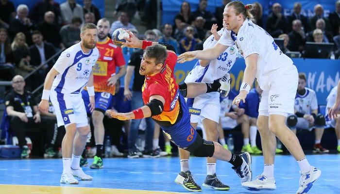Aginagalde fue importante en la victoria ante Islandia