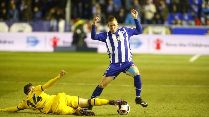 El Alavés hace historia al meterse en semifinales de Copa del Rey