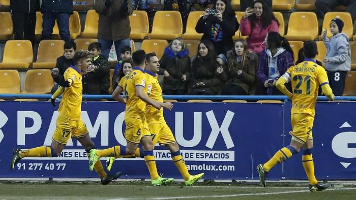 El Alcorcón consiguió la victoria ante el Levante en la Jornada 23