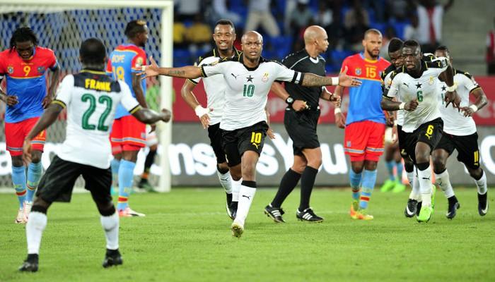 Dos goles de Andre Ayen meten a Ghana en semifinales de la Copa África 2017