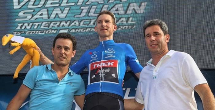 Bauke Mollema conquistó la general de la Vuelta a San Juan 2017