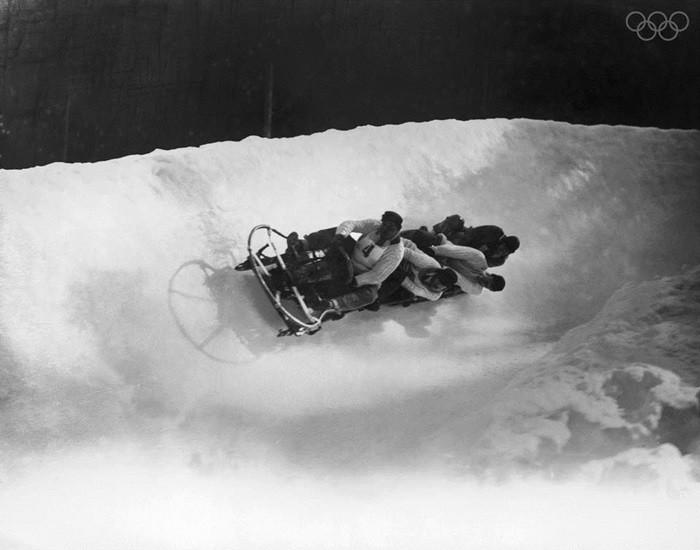 Equipo británico de bobsleigh