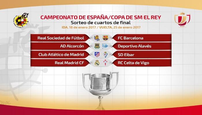 Eliminatorias de cuartos de final de la Copa del Rey