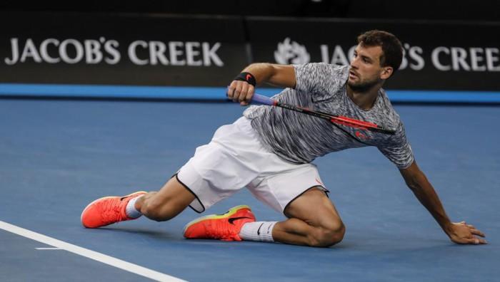Dimitrov a cuartos de final en Australia