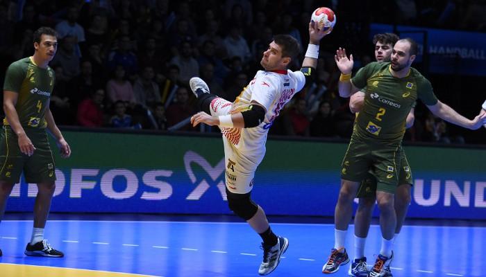 España ganó a Brasil en octavos del Mundial de balonmano