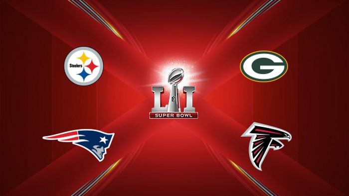 NFL 2016-2017: Steelers – Patriots y Packers – Falcons, las finales de conferencia