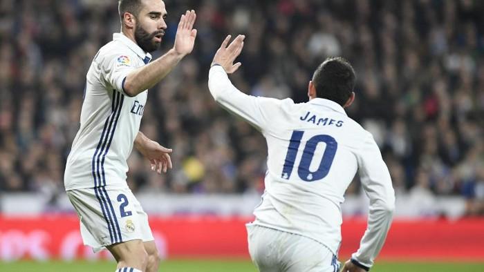 James Rodríguez regresó a la titularidad con goles en la Copa