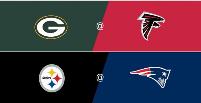 Falcons y Patriots ganaron las finales de Conferencia de la NFL