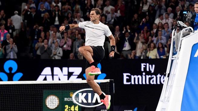Nadal a semifinales en Australia