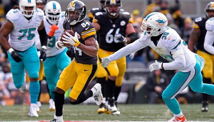 Los Steelers eliminaron a los Dolphins
