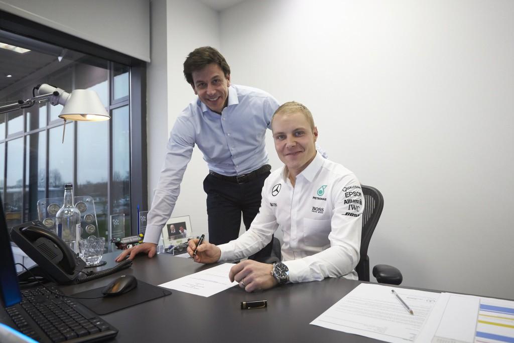 La parrilla de pilotos de F1 para 2017 casi cerrada después de los fichajes de Bottas, Massa y Wehrlein