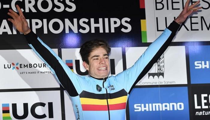 Van Aert repite como campeón del mundo de ciclocross