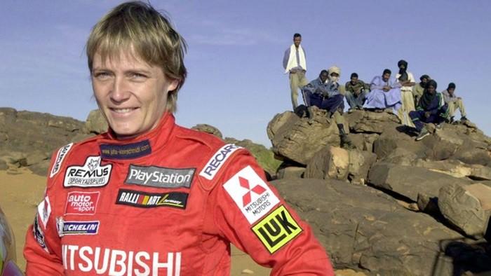 Jutta Kleinschmidt única mujer en ganar el Rally Dakar