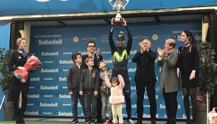Alejandro Valverde gana por quinta vez la Vuelta a Murcia