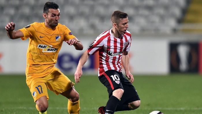 El Apoel eliminó al Athletic en la Europa League