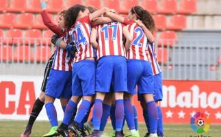 Liga Iberdrola: El Atlético mantiene su ventaja en el liderato gracias a un gol en el tiempo añadido