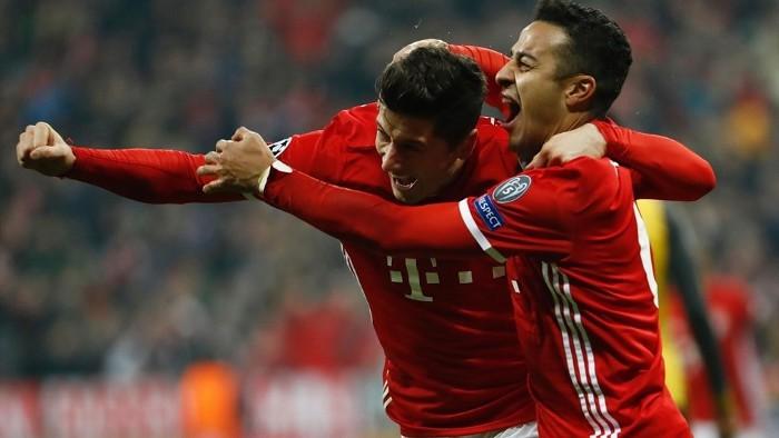 El Bayern goleó al Arsenal por 5-1