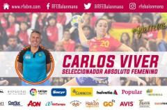 Carlos Viver es el nuevo seleccionador del balonmano femenino español