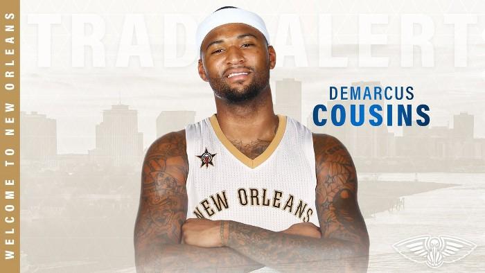 DeMarcus Cousins jugará en los Pelicans
