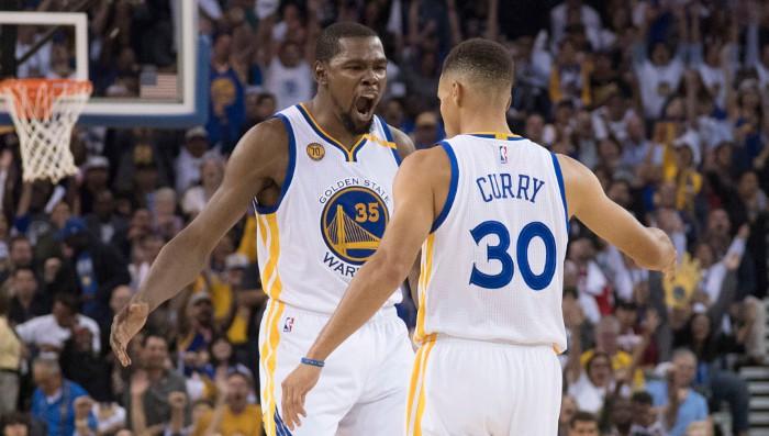 Durant y Curry comparten premio al mejor jugador de enero