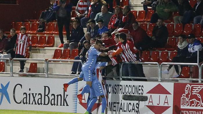 El Girona sigue instalado en puestos de ascenso directo