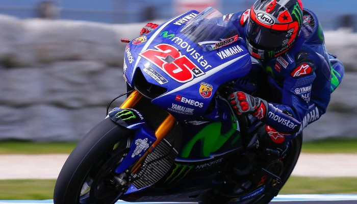 Viñales ha brillado en los primeros test de pretemporada en MotoGP