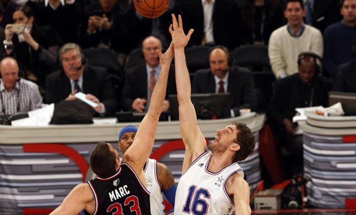 Pau y Marc haciendo historia en el All Star Game