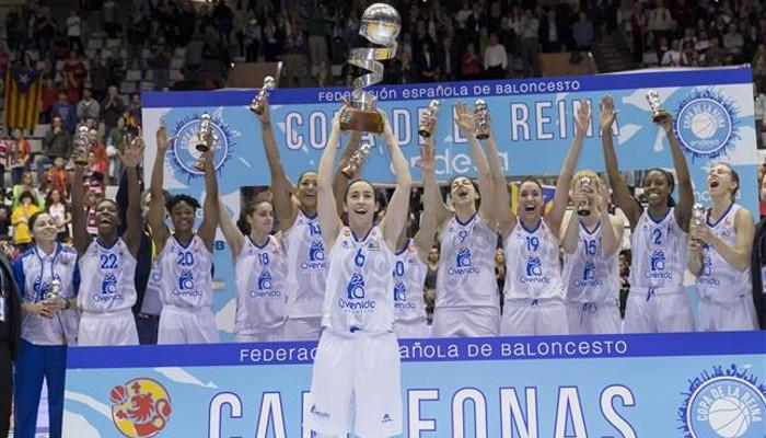 Perfumerías Avenida ganó la Copa de la Reina de baloncesto