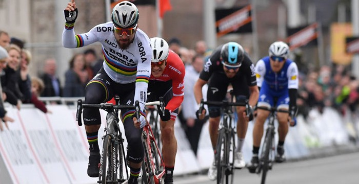 Sagan se impuso en la Kuurne - Bruselas - Kuurne 2017