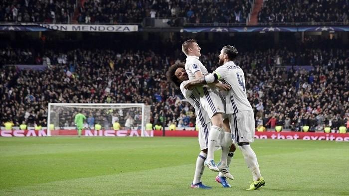 El Real Madrid ganó al Nápoles pese a empezar perdiendo