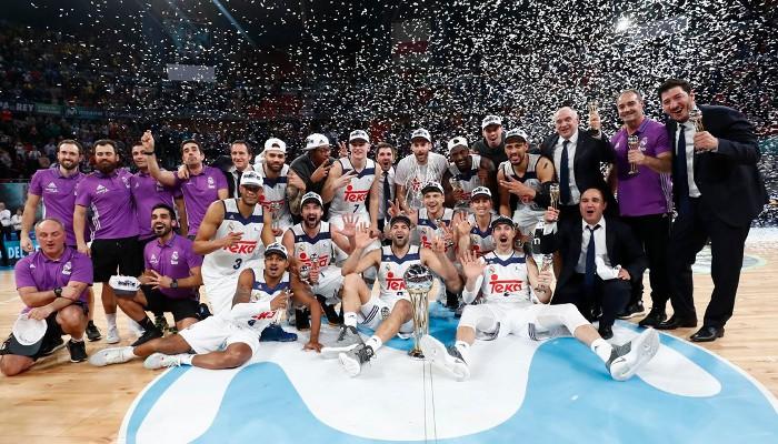 El Real Madrid ganó la Copa del Rey de baloncesto de 2017