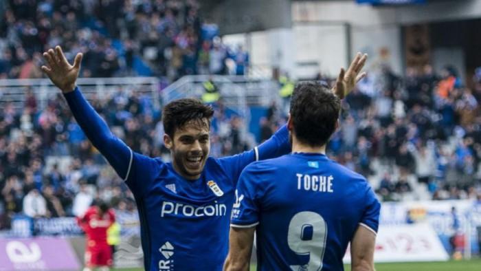 El Real Oviedo vuelve a puestos de playoffs en la Jornada 26