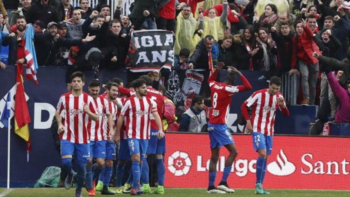 El Sporting consiguió su primera victoria a domicilio en la Jornada 22