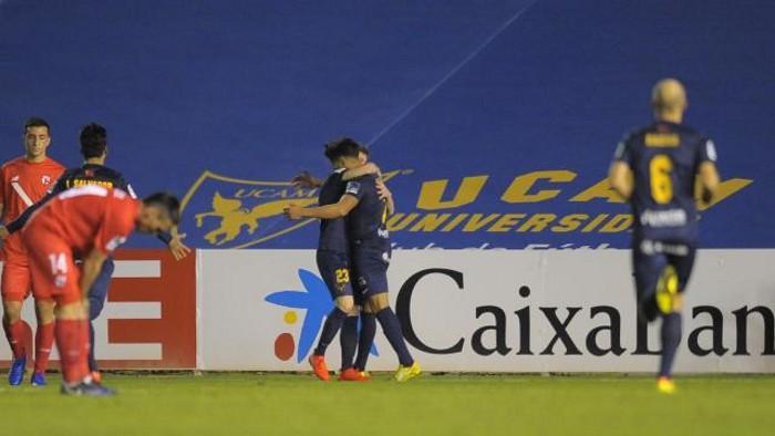 El UCAM Murcia ganó al Sevilla Atlético y sale de los puestos de descenso