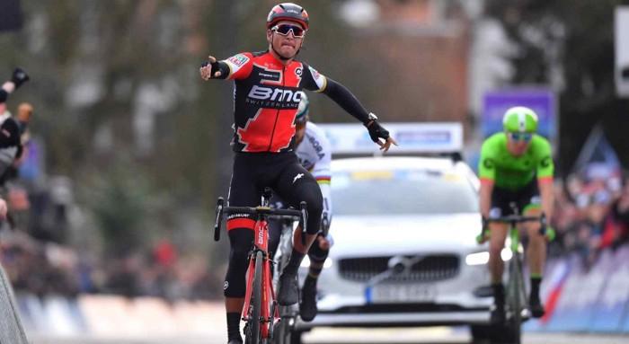Van Avermaet volvió a ganar en la Omloop Het Nieuwsblad