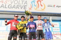El esloveno Primoz Roglic gana la general de la Vuelta al Algarve 2017