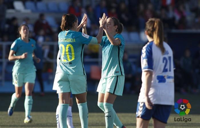 El Barcelona goleó en Zaragoza